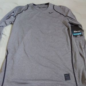 Nike pro fitted shirt new with tags size small